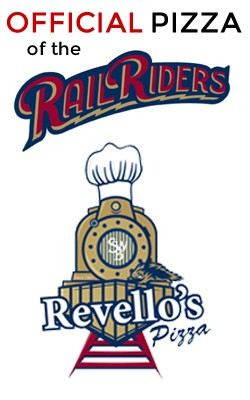 Official Pizza of the RailRiders